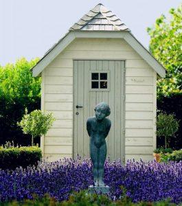 Zichtlijnen en focuspunt in de tuin - Tuinontwerp